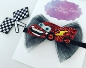 The Cars Glitter Bow