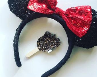The Mickey Ice Cream Clip or Headband