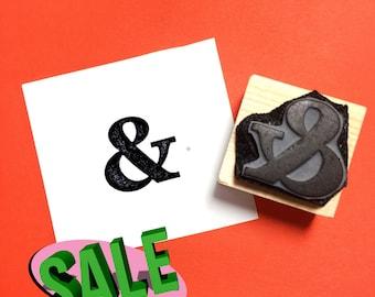 Ampersand Rubber Stamp SALE