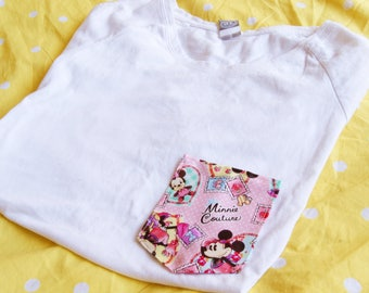 Minnie Couture Tee Pocket