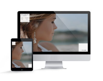 Showit 5 Template - Showit Website Template for Photographers - Instant Download - Alexis Showit Website Template