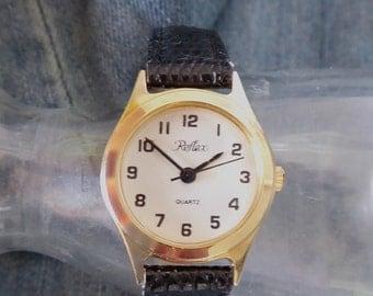 Ladies Reflex Watch, Quartz Watch, Ladies Quartz Watch with Large Numerals