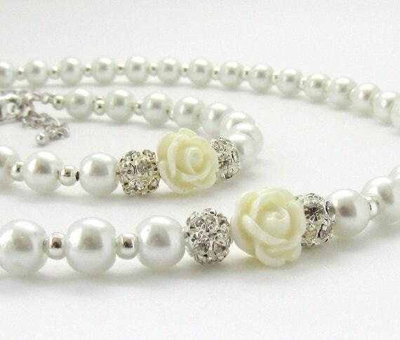 Flower Girl Jewelry, Bracelets, Earrings & Necklaces.