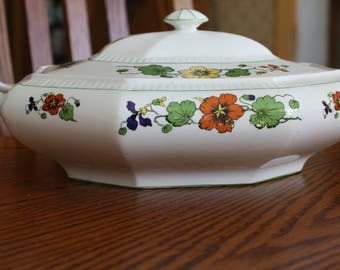 Vintage Thompson China Covered Dish