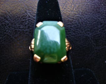Jade Ring Size 7.5 REDUCED