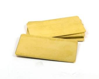 1 Pcs. Brass Sheet 30x60 mm  Rectangular Blanks ,20 Gauge