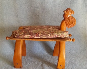 """Camel Footstool - """"Joe Camel"""" Style Mascot to the Camel Cigarette Brand"""