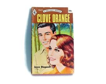 BOGO/ Vintage Harlequin Romance Novel/ Vintage Joyce Dingwell Romance Novel/ Paperback Book/ Vintage Collectible Book/Bookshelf Decor/1972