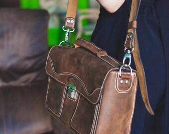 Professional Photographer Camera Bag, Velcro Padded Camera Bag, Full Grain Leather Padded Camera Bag, Camera Bag