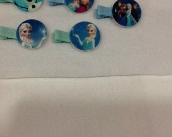 Character Hair Clips/Barrettes