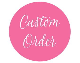 RESERVED - EXPEDITED SHIPPING on an order already placed. Please do not purchase unless you were sent this item link. Thank you!