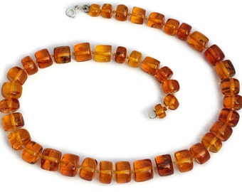 Amber Necklace Butterscotch Artisan Unique Jewelry