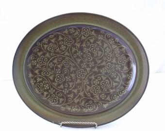 "Franciscan Madeira Oval Platter 13"""