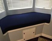 Custom L Bench Cushions for Megan