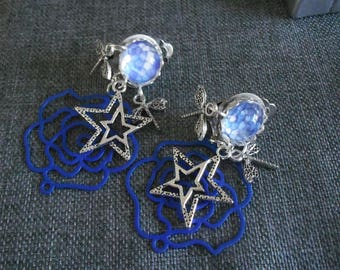 earring clips and charms