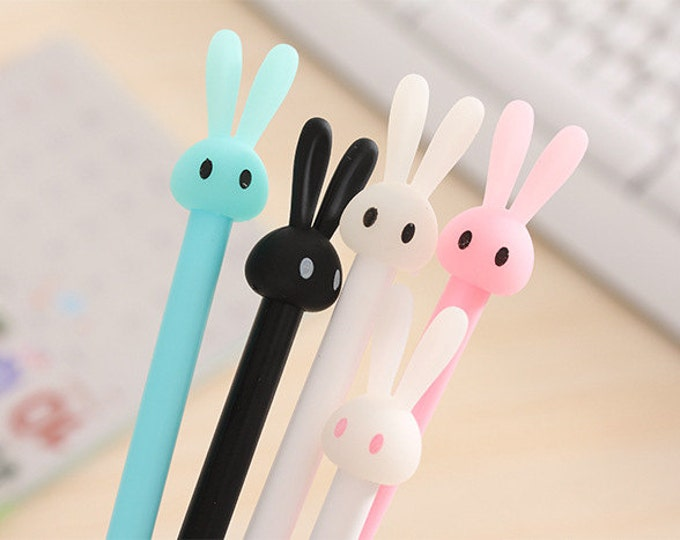 Featured listing image: Bunny Gel Pen .38mm P5335B