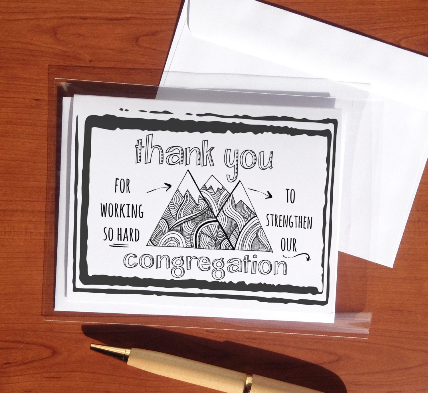 Strengthening our congregation jw greeting cards