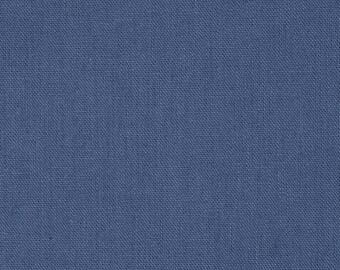 Blue Decorative Pillow Cover - Blue Pillow Cover - Linen Pillow Cover - Medium Blue Linen Pillow - Custom Pillows - 16 x 16 Pillows 18 x 18
