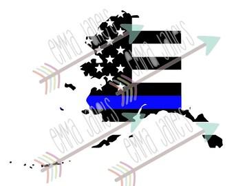 Alaska - Thin Blue Line