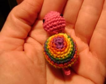 Tiny Turtle Hand Crocheted