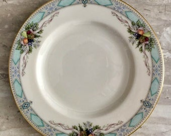 6 Lenox Vintage China - Lenox Heritage Glen Pattern-Presidential Collection-Bread and Butter Plates-Gift Idea-Mother's Day Gift-Mother's Day
