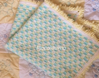 Turquoise blankets