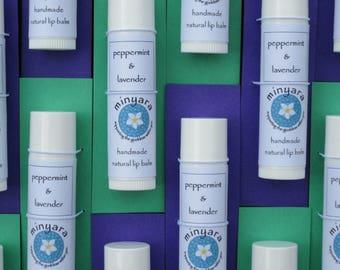 peppermint & lavender - Natural Lip Balm