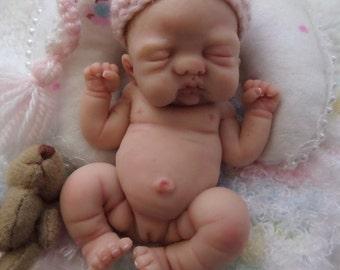 OoAK Mini Full Sculpt Art Baby by*Bttrfly Creations*