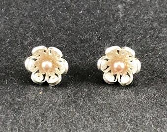Mediterranean Petite Pearl Earrings - Volume III