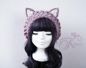 Cat hat (rosewood)