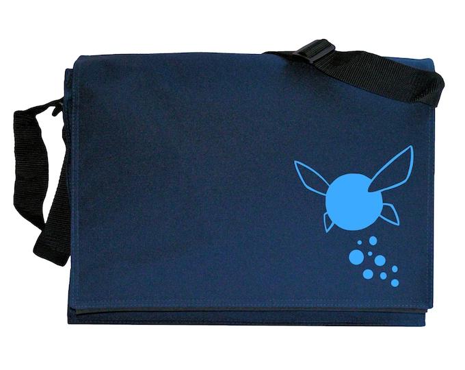 Navi Fairy Zelda Tribute Navy Blue Messenger Shoulder Bag