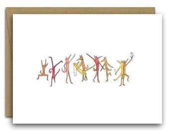 Wedding Celebration Card Congratulations Cute