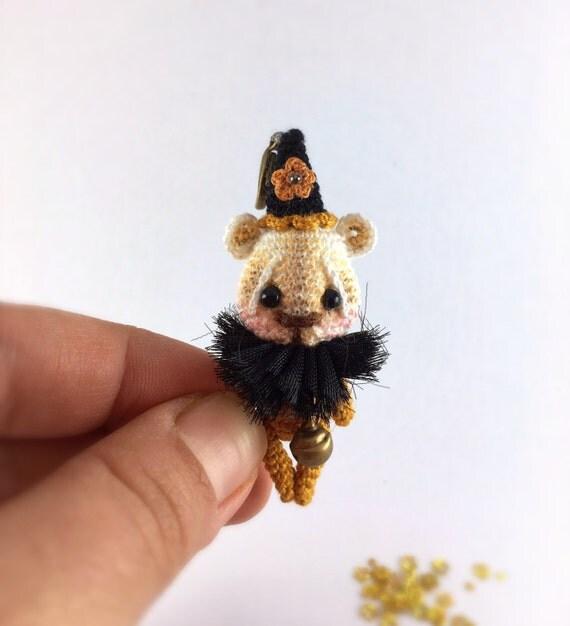 Amigurumi Bear Miniature Crochet Animal / Amigurumi miniature