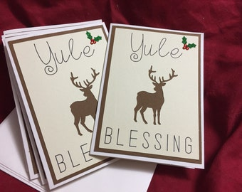 Yule Blessing Card Pack
