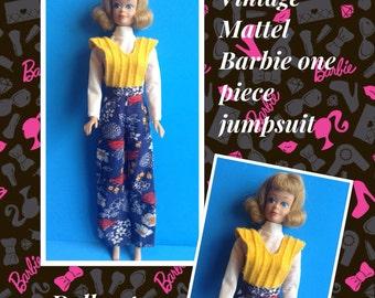 Vintage Barbie Jumpsuit