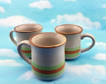 Set Of Three Casualstone Korea Coffee Cups Tea Cups Hot Chocolate Cups Replacement