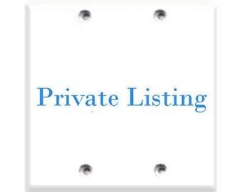Private Listing for Terri