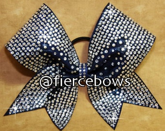 The Real Deal Rhinestone Cheer Bow