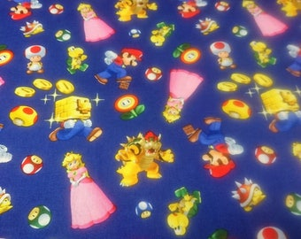Super Mario Fabric