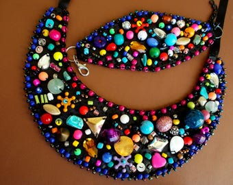 Candy Rain spring fashion 2017 jewelry design collar necklace bracelet shipping included in price