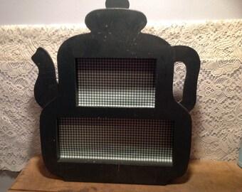 Tea Kettle Shadow Box