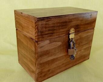 Finished Recipe Box