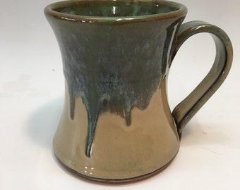 Pine Green - Ceramic Pottery Mug