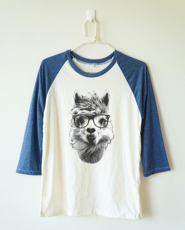 alpaca shirt alpaca tshirt animal tshirt funny tshirt baseball. Black Bedroom Furniture Sets. Home Design Ideas