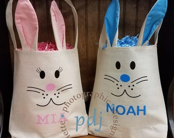 Personalized Easter Bag/Gift Bag!  Perfect for Easter Gifts and/or to use as an Easter Basket!