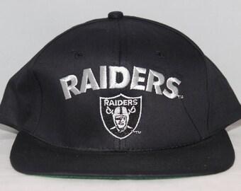 Vintage Los Angeles Raiders NFL Snapback Hat