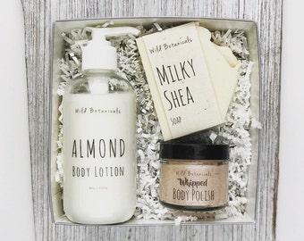 Wild Box, Body Scrub, Soap, Lotion, Spa Party, Detox, Relax, Gift Set