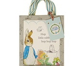 Peter Rabbit Boxed Favor Bags (Set of 8) - Meri Meri Beatrix Potter Goodie Bags (Licensed)