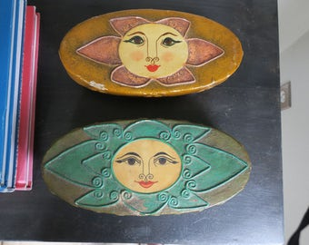 Set of Vintage Mexican Boxes