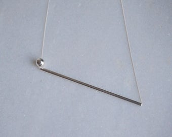 SHORT SHAPES - necklace - sterling silver - by STICKTAILS